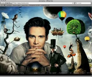 Jim Carrey homepage