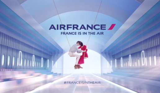 fotogramma spot Air France