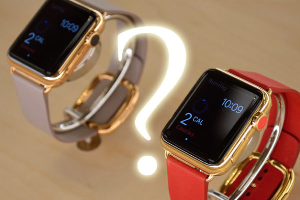 photo luxury Apple Watch concept