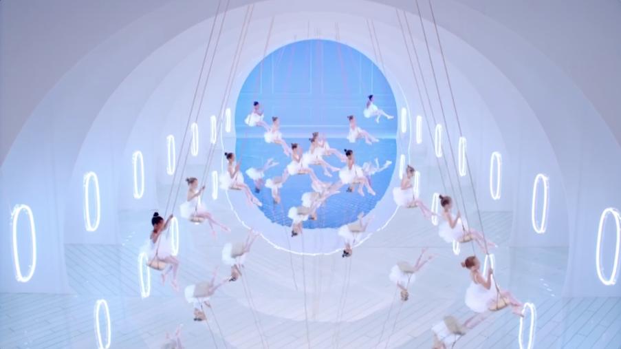 foto Air France danza